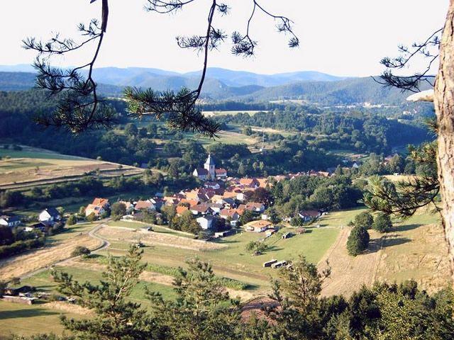 Blick auf Rumbach